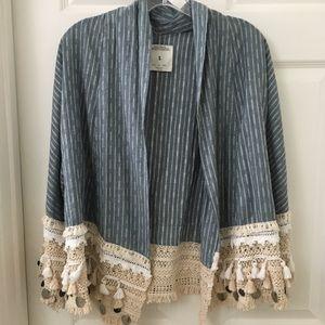 Zara short kimono jacket